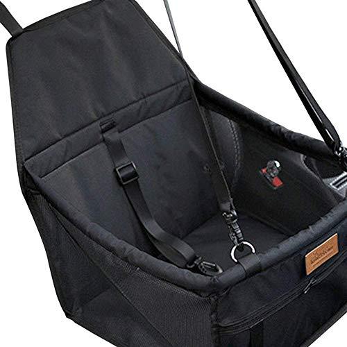 SEnjoyy Haustier Hund Autositz Booster Carrier Protector Tasche Käfig Abdeckung Wasserdichte Reise Carrier