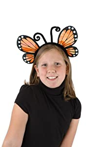 Elope H2693 - Diadema para disfraz de mariposa, color dorado