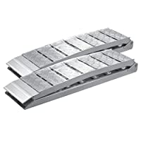2x folding loading ramp scooter ramp ATV Quad portable aluminium 90x11 inches 3000lbs (228cm 1360kg)