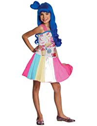 Rubies Costume Co R881659-S M-dchen Katy Perry Candy Girl Kost-m KLEINE