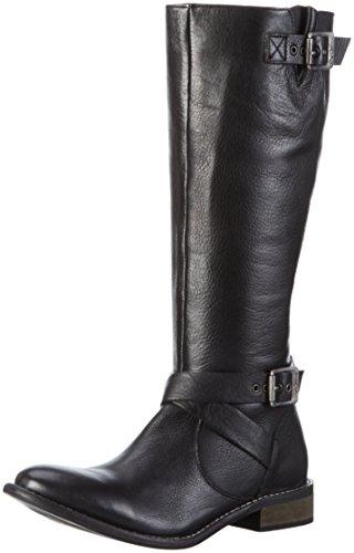 Pepe Jeans - Stivali Alti Muse Strap con imbottitura leggera da Donna Nero (Black 999)