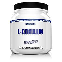 Pharmasports L-Citrullin - 750 Gramm reines L-Citrullin Malat Pulver