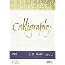 Favini Calligraphy A69Q514 - Papel pergamino (A4, liso, 50 unidades)