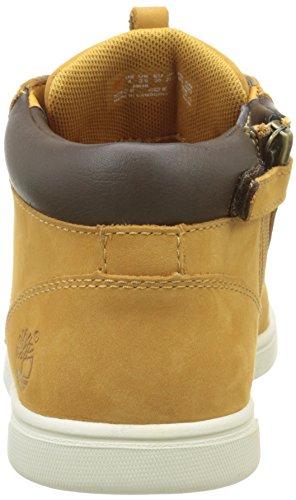 Timberland Groveton_groveton Leather Chukka, Scarpe da Ginnastica Unisex – Bambini Marrone