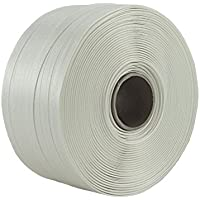 2 x 2000 m Umreifungsband 16 x 0,65 mm Kern 200 mm PP Band für Umreifungsgerät