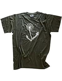 Shirtzshop Herren T-shirt Blow me Pusteblume