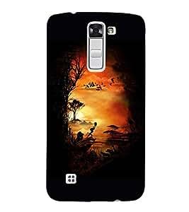 Painting 3D Hard Polycarbonate Designer Back Case Cover for LG K10 :: LG K10 Dual SIM :: LG K10 K420N K430DS K430DSF K430DSY