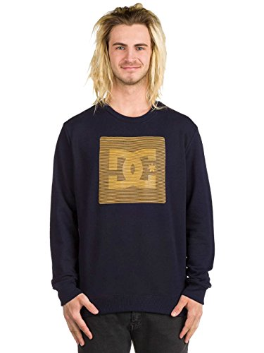 Herren Sweater DC Variation Crew Sweater Dark Indigo