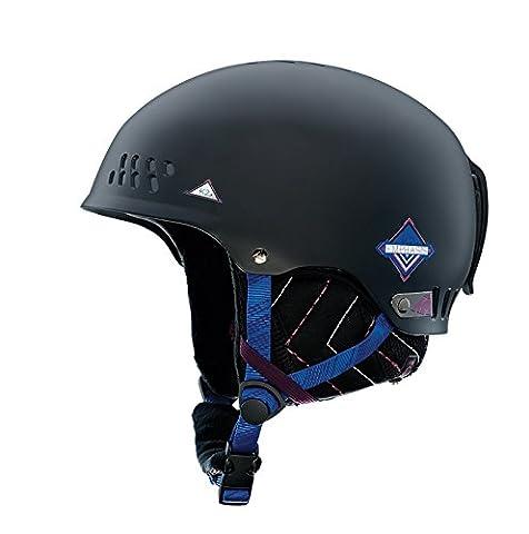 K2 Damen Helm Skihelm Emphasis, S, Black