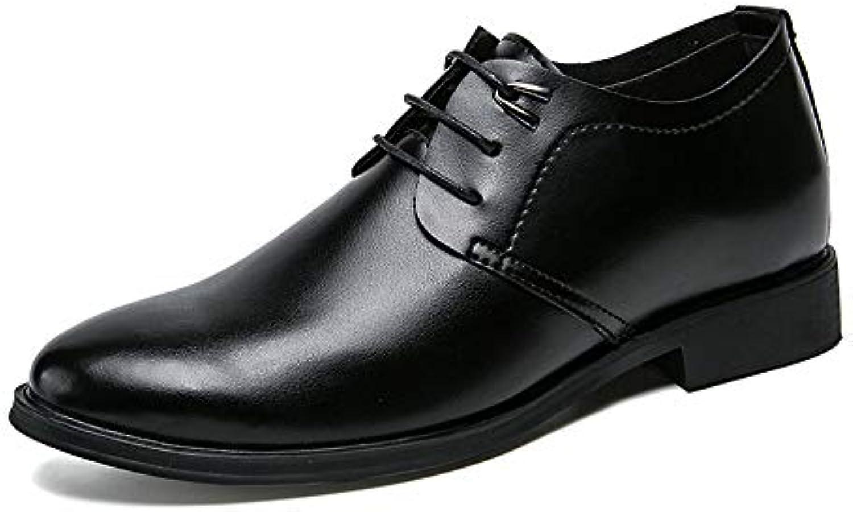 Xujw-scarpe, 2018 Scarpe Stringate Basse Scarpe da da da cerimonia uomo nere Scarpe stringate oxfords in pelle (Coloree... | Una Grande Varietà Di Prodotti  | Uomo/Donne Scarpa  77bc0a