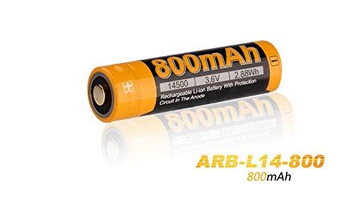 Preisvergleich Produktbild Fenix ARB-L14-800 geschützter Mignon AA Li-Ionen Akku 14500 für LD11