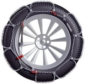 Catene da neve 9 mm ALFA ROMEO 147 pneumatici 225//45//17 225//45 R17 Gruppo 9.5