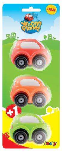 smoby-211237-jouet-de-premier-age-vroom-planet-23-mini-bolides-en-blister-2-assortiment