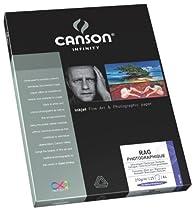 Canson InFinity Rag Photographique Papier Photo 25 Feuilles 210 g A4 Blanc