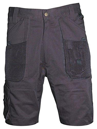 Cargo Plus Größe Shorts (Blackrock Cargo Shorts Workmans Arbeiten Size's 76.20 cm - 111.76 cm, Schwarz, Grau, Navy, schwarz)