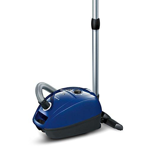 Bosch BGL3B110 Bodenstaubsauger GL-30 (mit Beutel, gründliche Reinigungsleistung, PowerProtect System) nordkapblau/metallic -