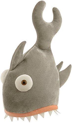 Erwachsene Shark Biss Neuheit Hut Rachen Fisch Kostüm Kostüm ()