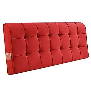 QIANCHENG-Cushion Kopfteil Kissen for Bett Rückenlehnen Bedside Rückenlehne Wandkissen Entlastung der Taille, 11 Farben…