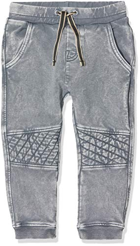 Noppies Baby-Jungen B Pants Slim Palm Beach Hose, Grau (Light Grey Wash P049), 80 -