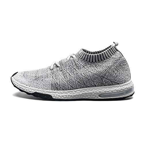 Männer Sneakers Luftpolster Mann Laufschuhe Socken Strick männliche Sportschuhe