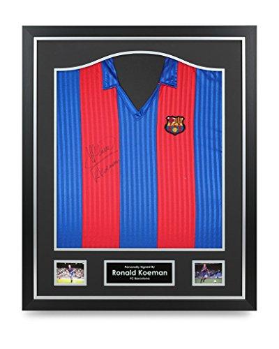 Ronald-Koeman-Signed-Shirt-Framed-Barcelona-Autograph-Jersey-Memorabilia-COA