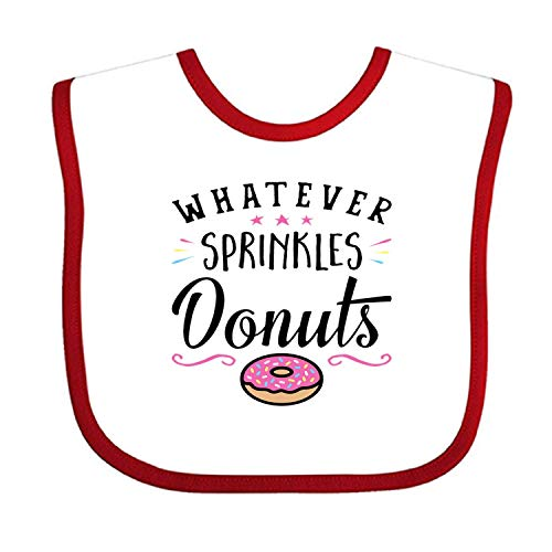 Tasty Donuts Stylish Baby Burp Set Bibs - Best Gift for Newborn Baby Bib, Toddler Bib -