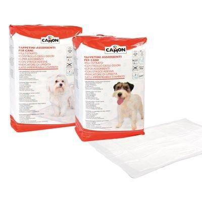 Camon absorbants pour chiens – 1 Conf de 25 tapis 60 x 90 cm
