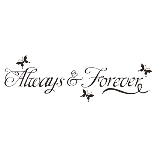 60cm20cm-always-forever-butterfly-pvc-diy-wall-sticker-removable-mural-home-decor-poster-background