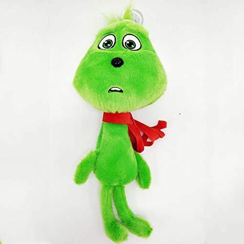 xuritaotao 30 cm Halloween Das Grüne Monster Grinch Dr. Seuss Puppe Cosplay Plüsch Weiche Kuscheltiere Puppe Spielzeug Für Weihnachten Kinder Geschenke (Dr Seuss Halloween)