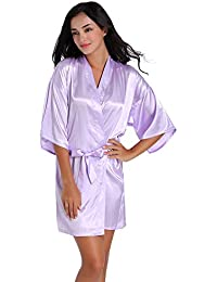 MISSMAOM Damas Casual Vintage Retro Personalizada Honor Ropa de Dormir Erótica para Mujer Sexy Batas Kimonos