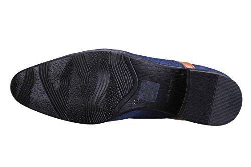 Tamboga - Chaussure Derbies 920 Jeans Bleu/Camel Bleu