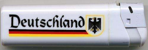 Più leggero Einwegfeuerzeug ߦ x; GERMANIA - AQUILA IN GERMANIA ߦ x; NUOVO (01161) più leggero