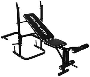 Gold's Gym Multi Purpose Bench - Black