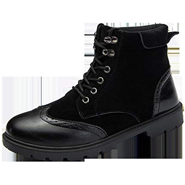 Hyldl Chaussure Homme Vintage Cuir Gravure Vintage Homme Confortable Et Élégante Chaussures en Cuir - B07JJJB7VS - 70c4c2
