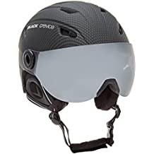 Black Crevice Casco  Carbón M (57-58 cm)