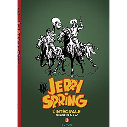 Jerry Spring - L'Intégrale - tome 3 - Jerry Spring 3 intégrale 1958-1962