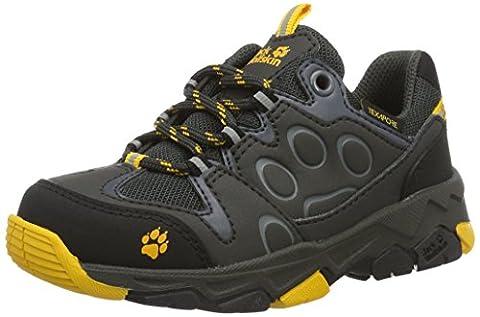 Jack Wolfskin Unisex-Kinder Mtn Attack 2 Texapore Low K Trekking-& Wanderhalbschuhe, Grau (Burly Yellow), 38 EU