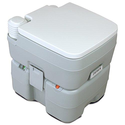 BB Sport Campingtoilette Chemietoilette mobiles WC tragbare Toilette Reisetoilette mit Füllstandsanzeige und Entlüftungsventil