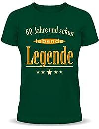 60ans, Légende vivante–T-Shirt–Textiles