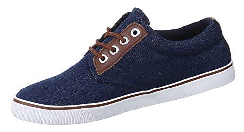 Damen Sneakers Schuhe Freizeitschuhe Slipper Sportschuhe Runner Turnschuhe Schwarz Blau 36 37 38 39 40 41 Dunkelblau