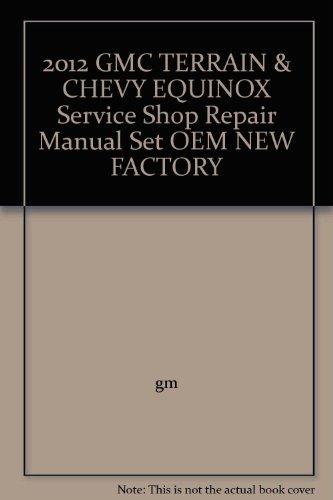 2012-gmc-terrain-chevy-equinox-service-shop-repair-manual-set-oem-new-factory