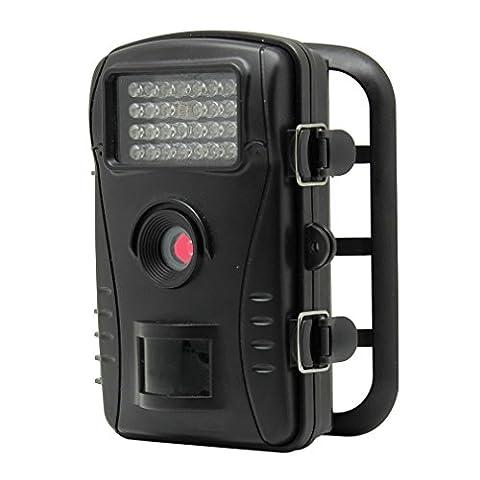 Caméra de Chasse Surveillance Vidéo 70° LESHP avec Ecran LCD 2,4