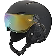 Bollé Casco de esquí Juliet Visor Soft Black/oro/Lemon, 54 – 58 cm, 31162