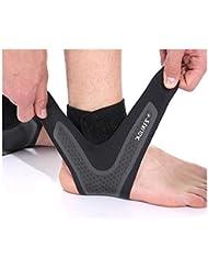 0f0c1ead36675 A Smile Home Sports - Tobillera Ligera y Protectora de presión para pies  antiesguinces