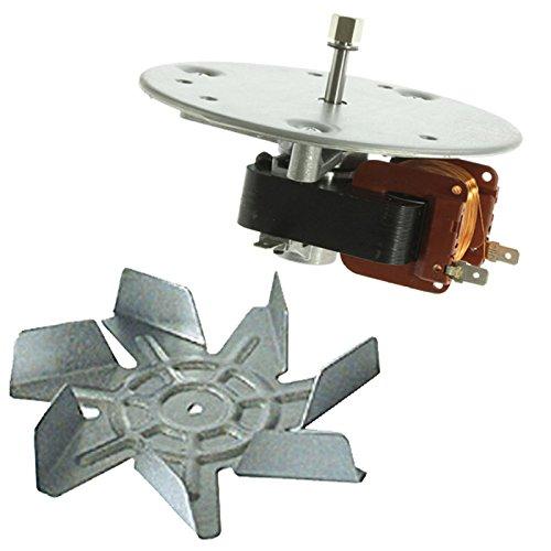 spares2go Fan Klinge und Motor Einheit für General Electric Ofen/Herd -
