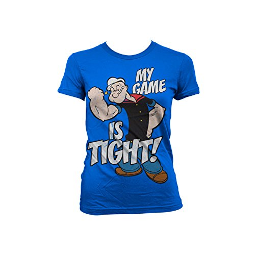 officially-licensed-merchandise-popeye-game-is-tight-girly-t-shirt-blue-xx-large