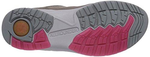 Allrounder by Mephisto  Dalina Tech Nubuk 60/nubuk 60 Warm Grey/warm Grey, Chaussures Multisport Outdoor femme Grau (Warm Grey/Warm Grey)