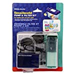 Small World Pump & Filter Kit - Filter Unit and Replacement Cartridge – For Healthy Fish and Clear Water 2