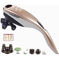 Preisvergleich für MEZI AM Massager ★ Nacken Taille Schulter Elektrische Multifunktions Körper Vibration Kneten Delphin Massage Stick...