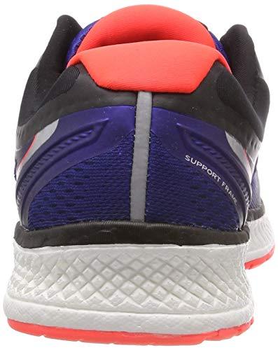 Saucony Triumph ISO 4, Scarpe Running Uomo, Blu (SilverBlueVizired 35), 44 EU